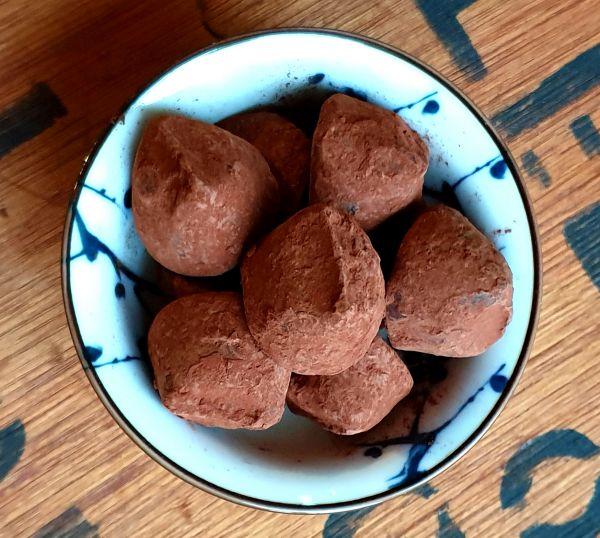Kakaotrüffel Ingwer 125g