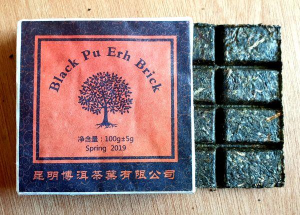 Pu Erh Brick schwarz 100g Tafel