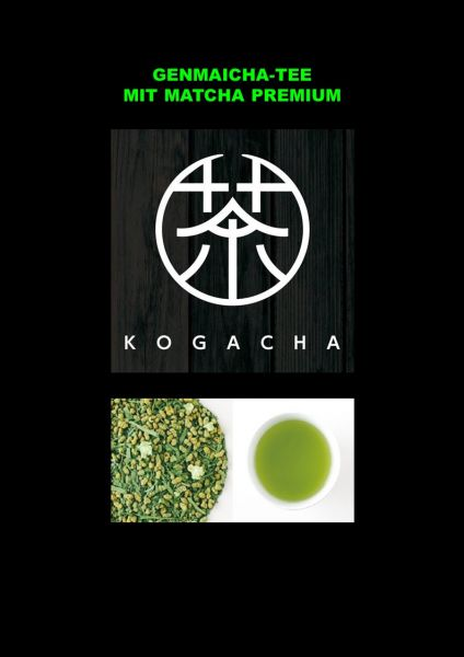 Genmaicha mit Premium Matcha