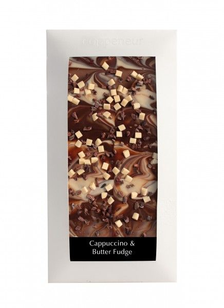 Coppeneur Cappuccino & Butter- Fudge Cuvee Schokolade 85g Tafel