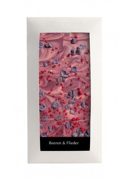 Coppeneur Beeren & Flieder Cuvee Schokolade 85g Tafel