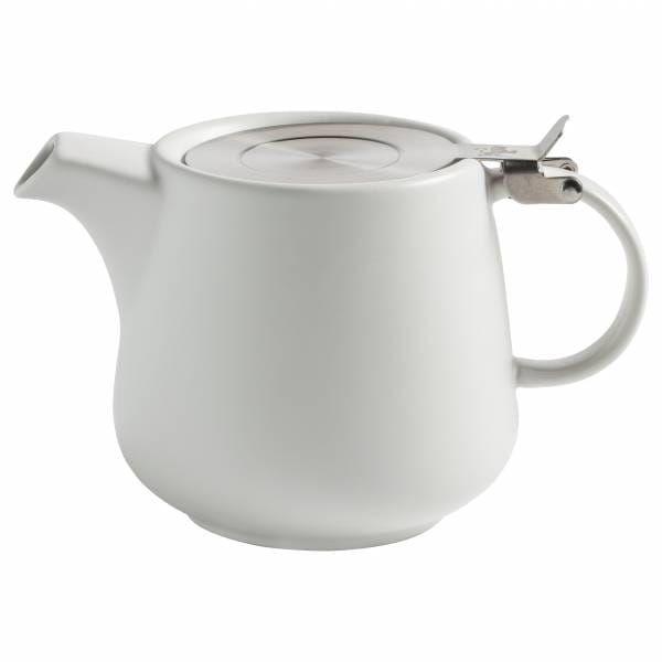 Teekanne Skandinavien weiß 1,2 Liter