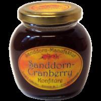 Sanddorn- Cranberry- Konfitüre