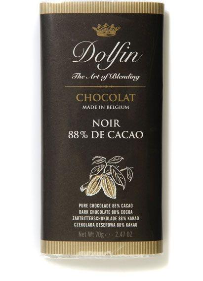 Dolfin Dunkle Schokolade 88%