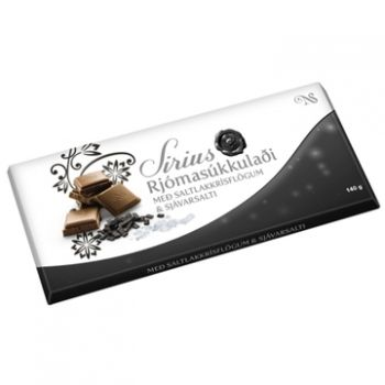 Islänische Lakritzschokolade 140g