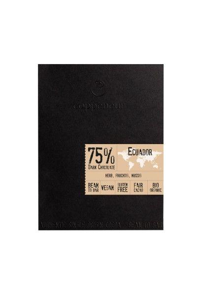 Coppeneur Crue de Cao Ecuador 75% Dark 50g