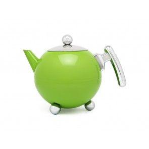 Duett doppelwandige Teekanne 1,2 Liter grün