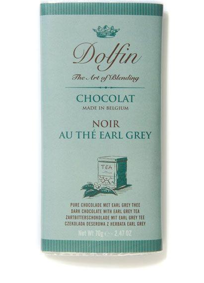 Dolfin Zartbitterschokolade Earl- Grey 70g